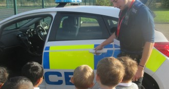 Police Visit Goldsworthy Class