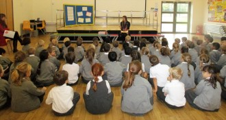 Wheatfield Primary School Good News Assembly!